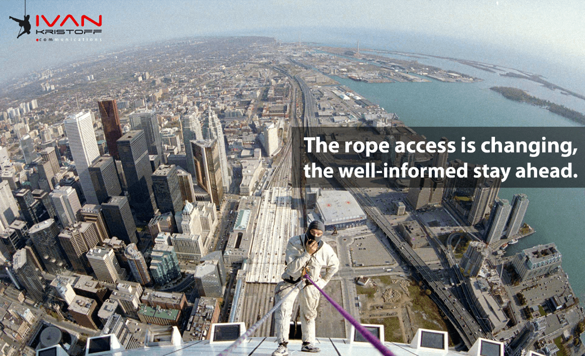 Rope Acceess from the CN Tower - World's Tallest
