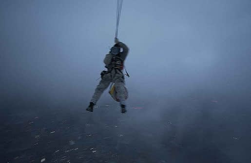 chaotic rope access in the air