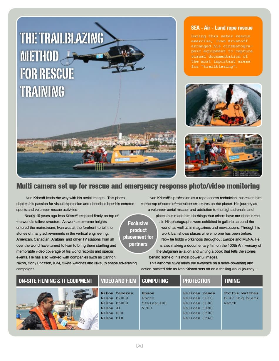 THE TRAILBLAZING METHOD FOR RESCUE TRAINING