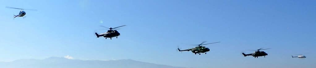 helicopter dancing