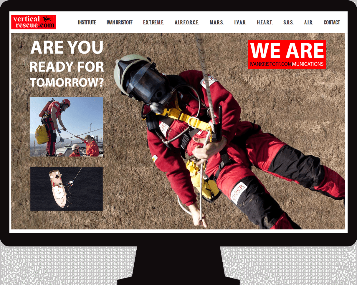 Web design for Rescue