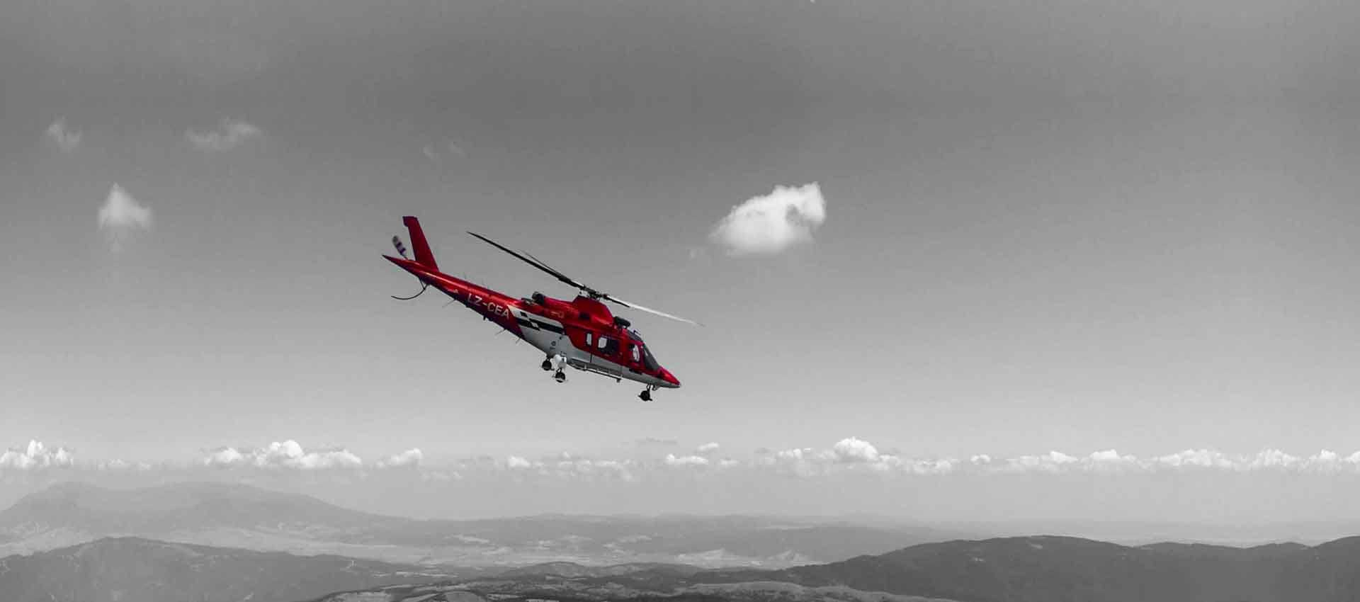 850 High ALtitude Helicopter