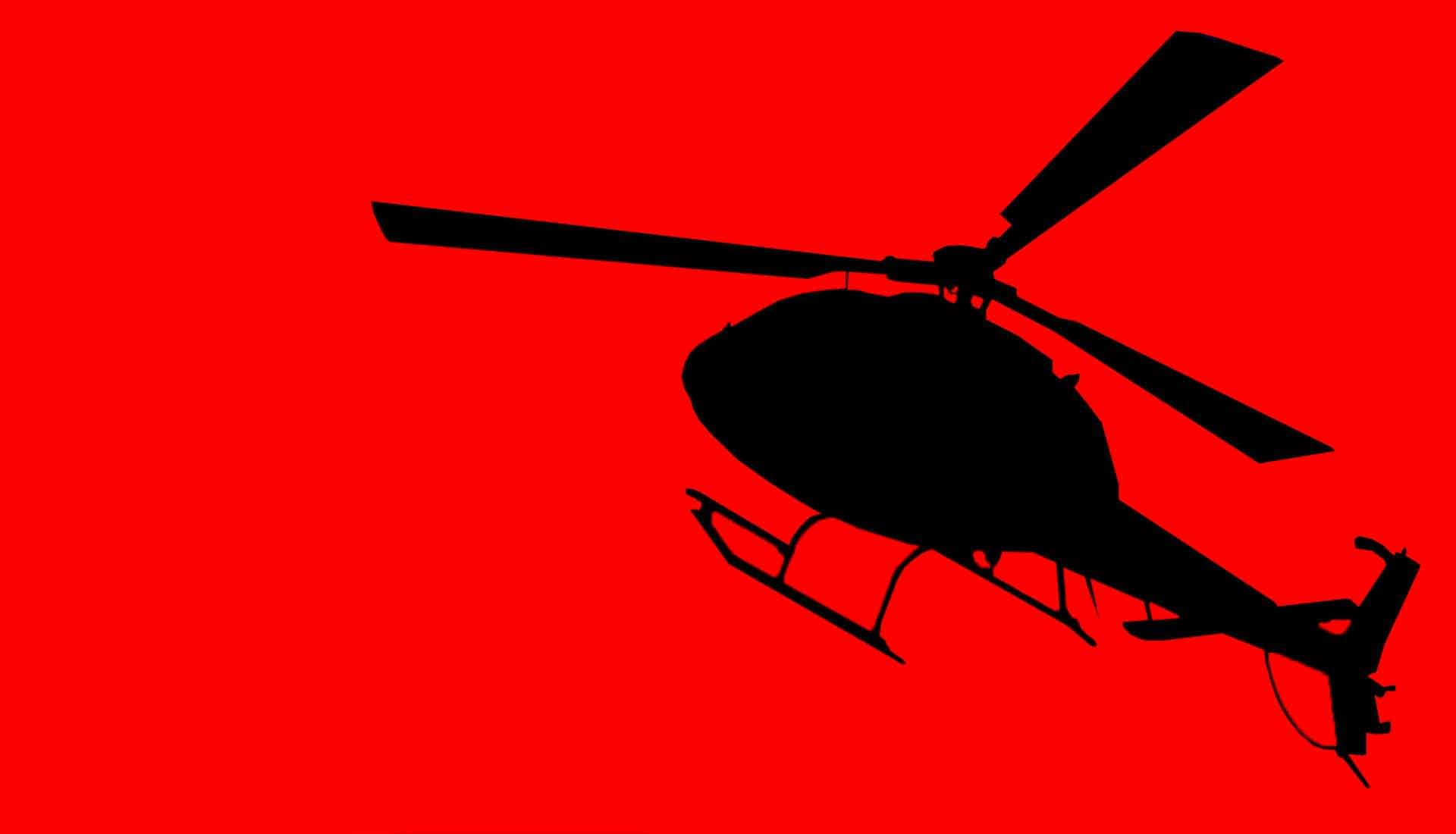 Redi helicopter for air rescue