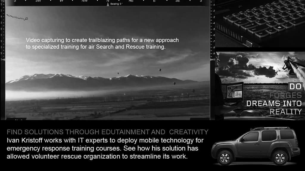 FIND SOLUTIONS THROUGH EDUTAINMENT AND CREATIVITY